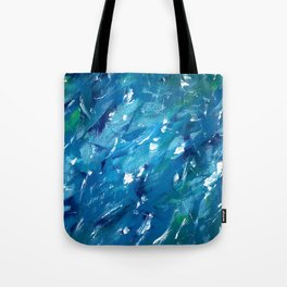 Sunlight on Lake Michigan Tote Bag