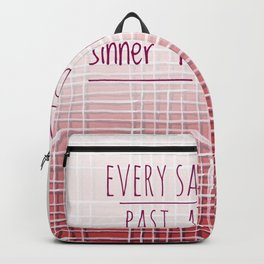 Saint Sinner Backpack