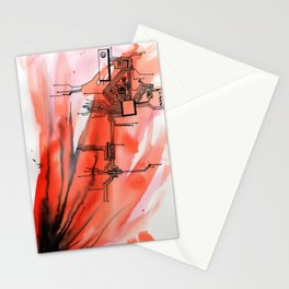Blown Apart  Stationery Cards