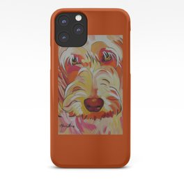 Labradoodle Pop Art Dog iPhone Case