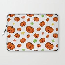 The happy pumpkin Laptop Sleeve
