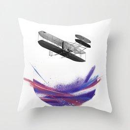 Wright 3 Throw Pillow