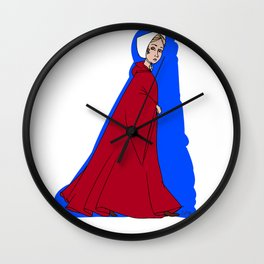 A Handmaid Wall Clock