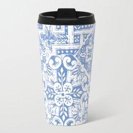 celtic cloud blue Travel Mug