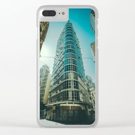 CITY - BUILDING - SQUARE - PHOTOGRAPHY Clear iPhone Case