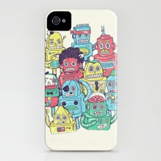 Robot's can't Smile Slim Case iPhone (4, 4s)
