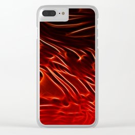 Fire Light Clear iPhone Case