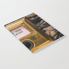 Champers Notebook