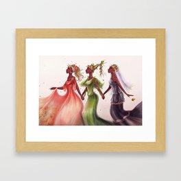 Horae/Las Horas Framed Art Print