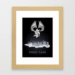 Peddy Cash Skyline Framed Art Print