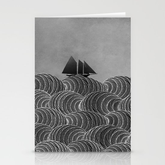 The Ancient Sea Stationery Cards