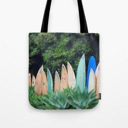 Surf Line Tote Bag