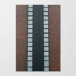 Symmetrical Windows Canvas Print