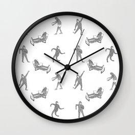 The Secret Life of Bigfoot Wall Clock