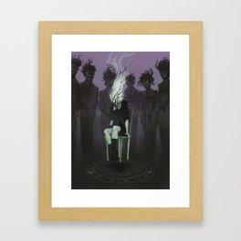 Invocation Framed Art Print