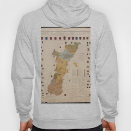 Historic Map of Alsace (1859) Hoody