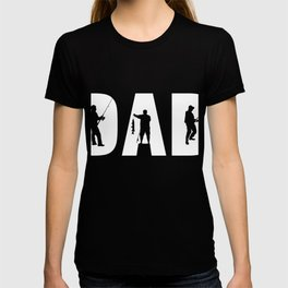 Perfect Shirt For Fishing Dad From Kids. T-shirt