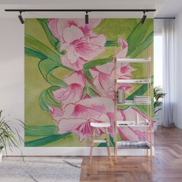 Her Mother's Gladiolus Wall Mural