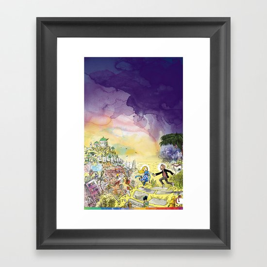 LaLaLand Framed Art Print