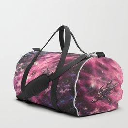 Magenta Flight Duffle Bag