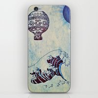 voyage iPhone & iPod Skins featuring Voyage by Cullen Rawlins