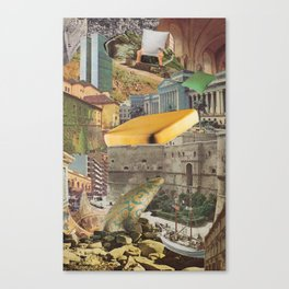 Horror Vacui VI Canvas Print