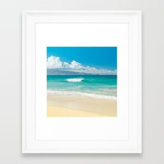 Hawaii Beach Treasures Framed Art Print