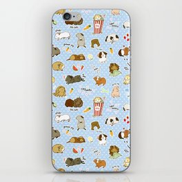 Guinea Pig Party! - Cavy Cuddles and Rodent Romance iPhone Skin