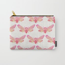 Summer Cicada – Pink Palette Carry-All Pouch