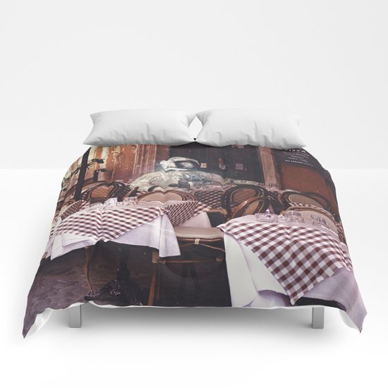 Dining Alone Comforters