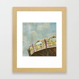Joy Meets Sky Framed Art Print