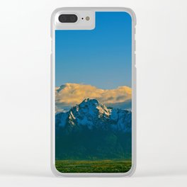Pioneer Peak - Mat-Su Valley Clear iPhone Case
