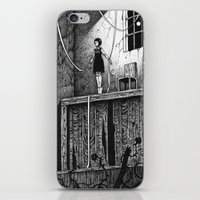 theatre iPhone & iPod Skins featuring Puppet Theatre by Michael Brack