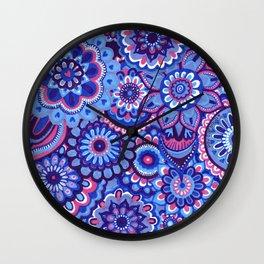 blue hope Wall Clock