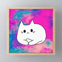 cat 513 Framed Mini Art Print