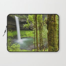 South Falls in the Silver Falls State Park, Oregon, USA Laptop Sleeve