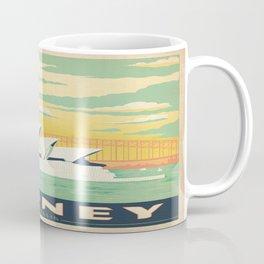 Vintage poster - Sydney Coffee Mug
