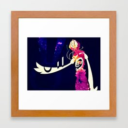 Glitched Framed Art Print