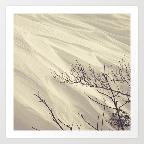 Wind is... Art Print