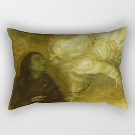 Breathless Rectangular Pillow