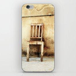 chair iPhone Skin