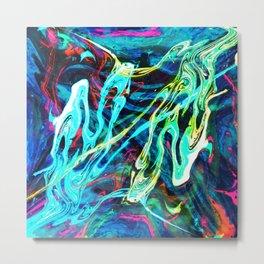 Fluid Abstract 29 Metal Print