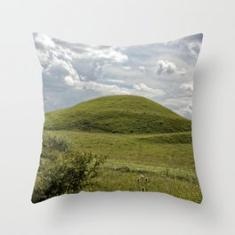 Where are the aliens Throw Pillow