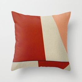 Back to Sail 3 Throw Pillow