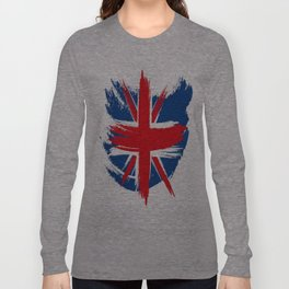 Sketched Union Jack Long Sleeve T-shirt