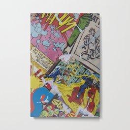 Comics Trip Metal Print
