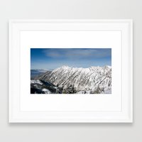 utah Framed Art Prints featuring utah  by annuh