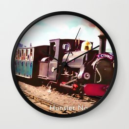 Hunslet No 589 Blanche Wall Clock