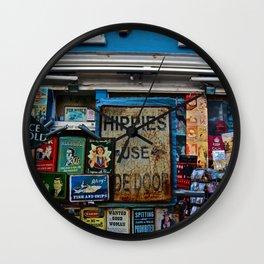 Hippies Use The Side Door Wall Clock