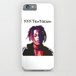 xxx tentacion rapper portrait  iPhone Case